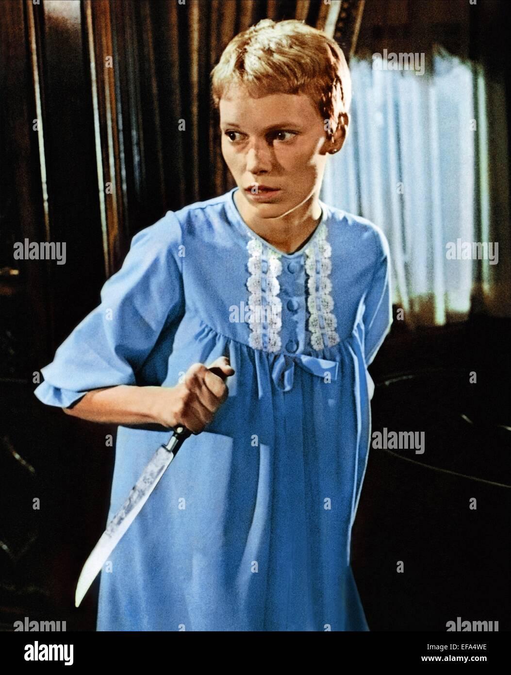 mia farrow rosemarys baby 1968 stock photo 78284682 alamy