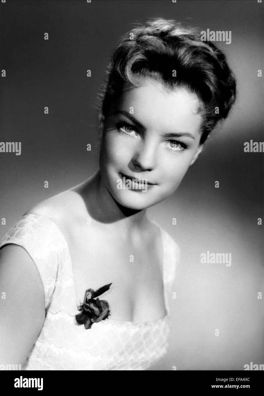 ROMY SCHNEIDER ACTRESS (1956) - Stock Image