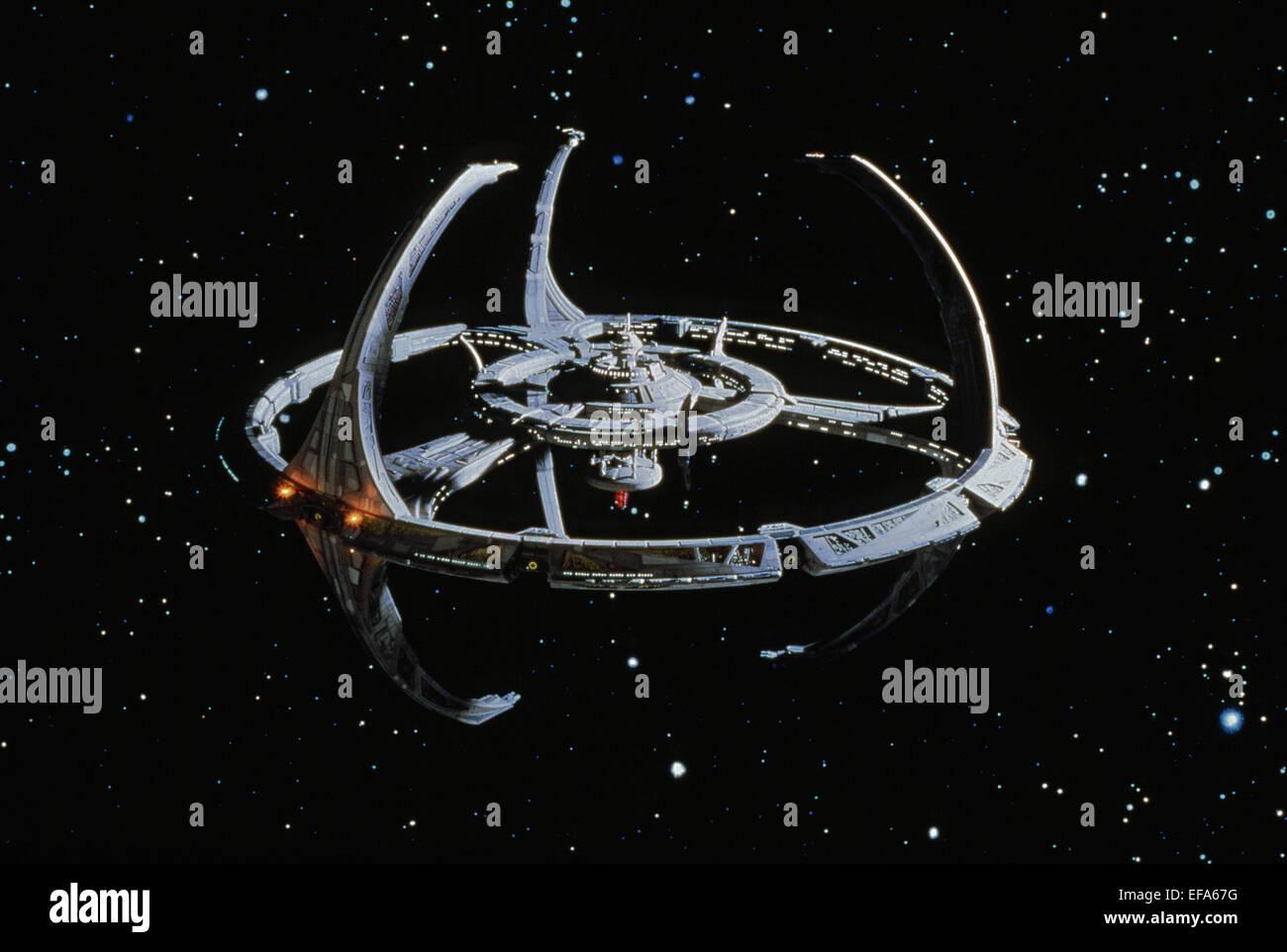 SPACE STATION STAR TREK: DEEP SPACE NINE (1993) - Stock Image