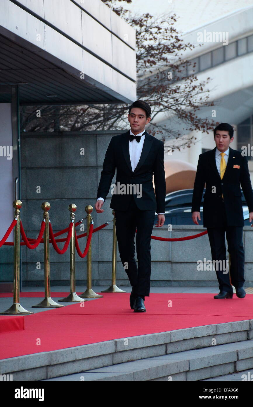 Seoul, Korea  28th Jan, 2015  The red carpet ceremony of the 4th