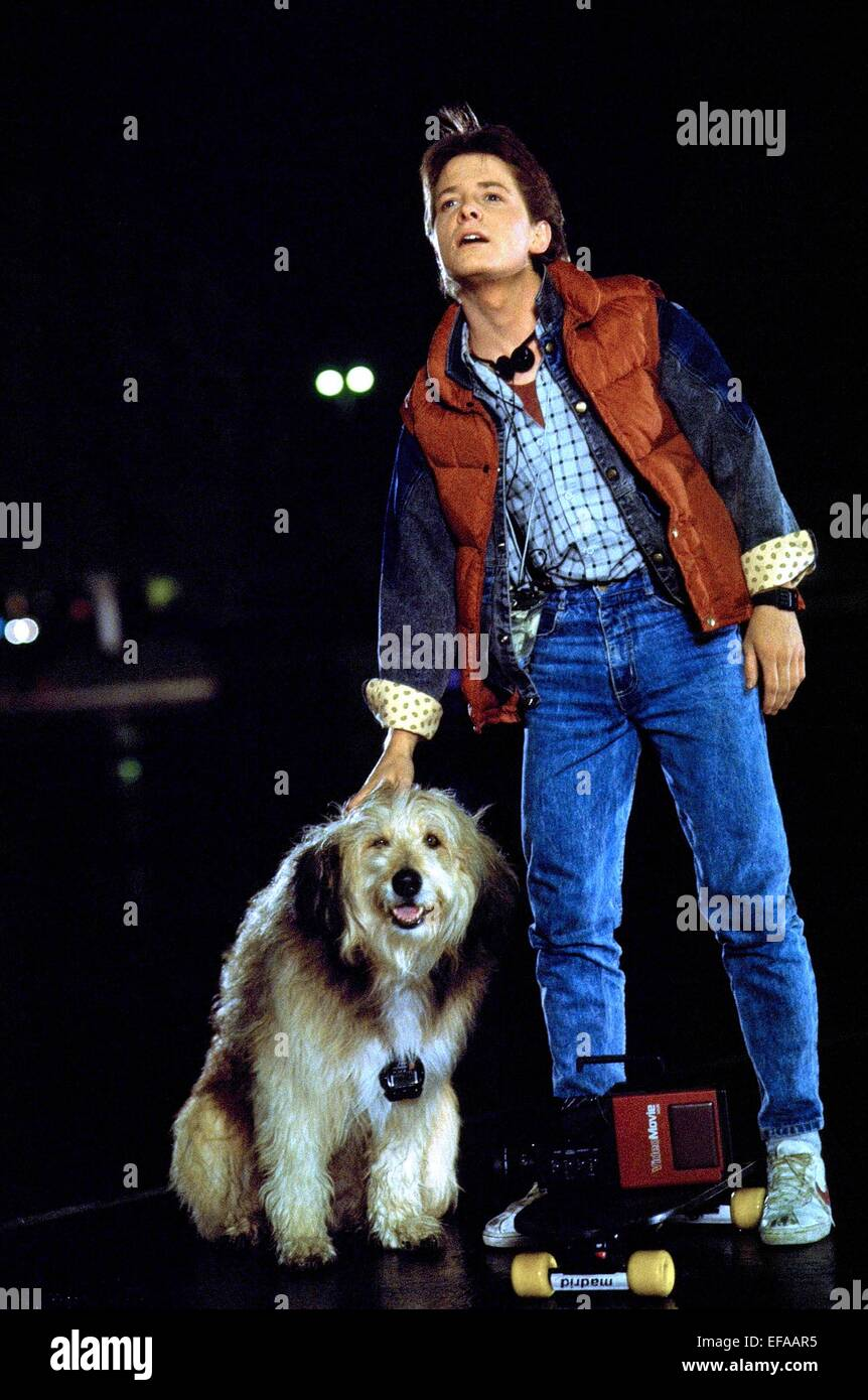 dog in back to the future