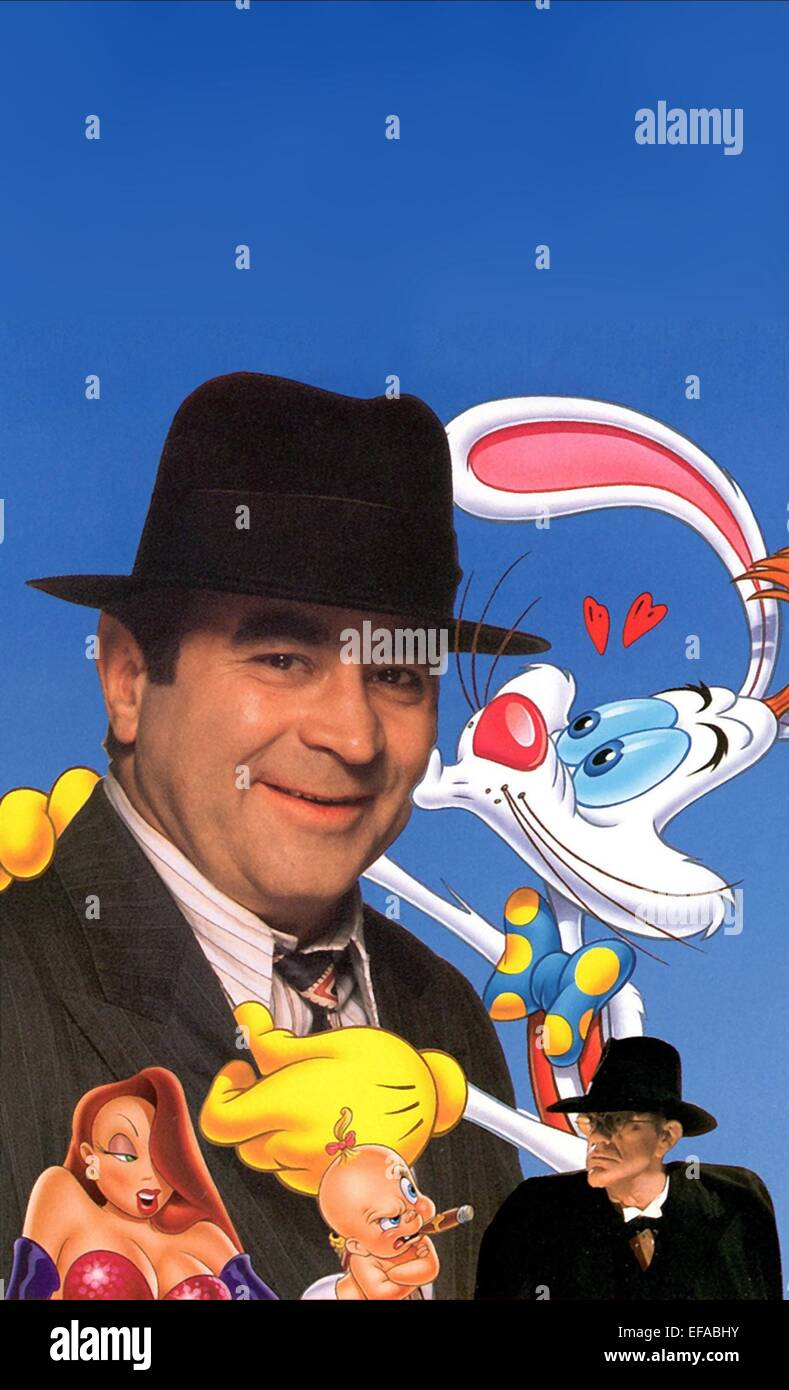 BOB HOSKINS CHRISTOPHER LLOYD JESSICA RABBIT & ROGER RABBIT WHO ...