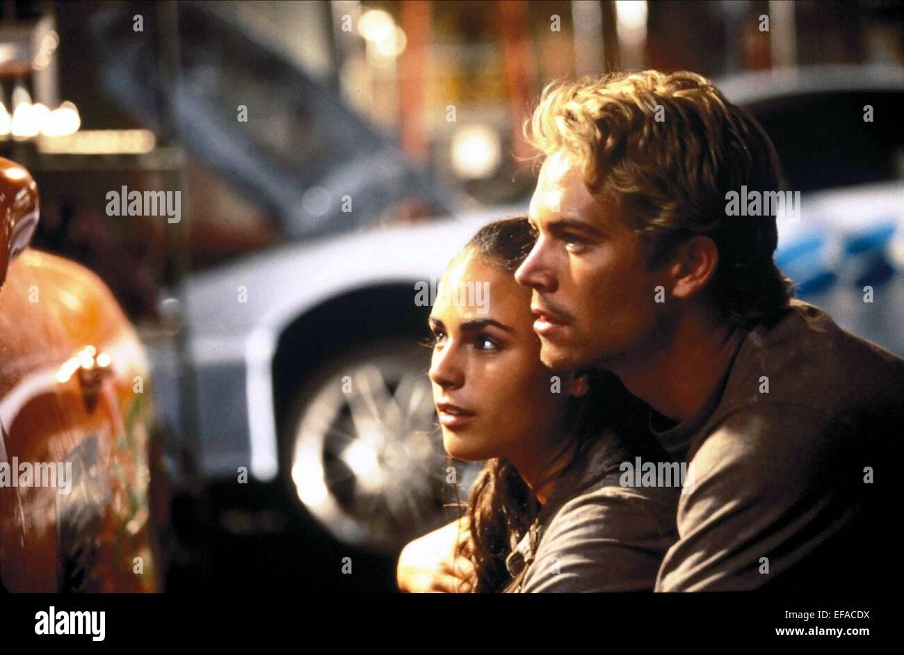 Fast And Furious 2001 Paul Walker JORDANA BREWSTE...