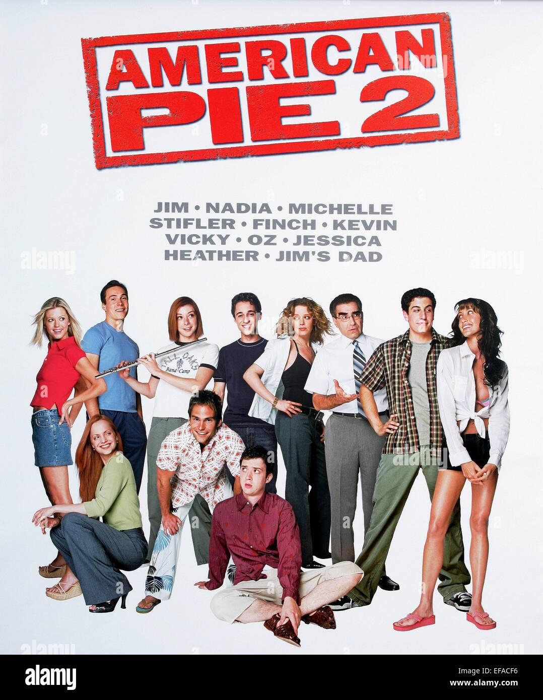 Film Poster American Pie 2 2001 Stock Photo Alamy