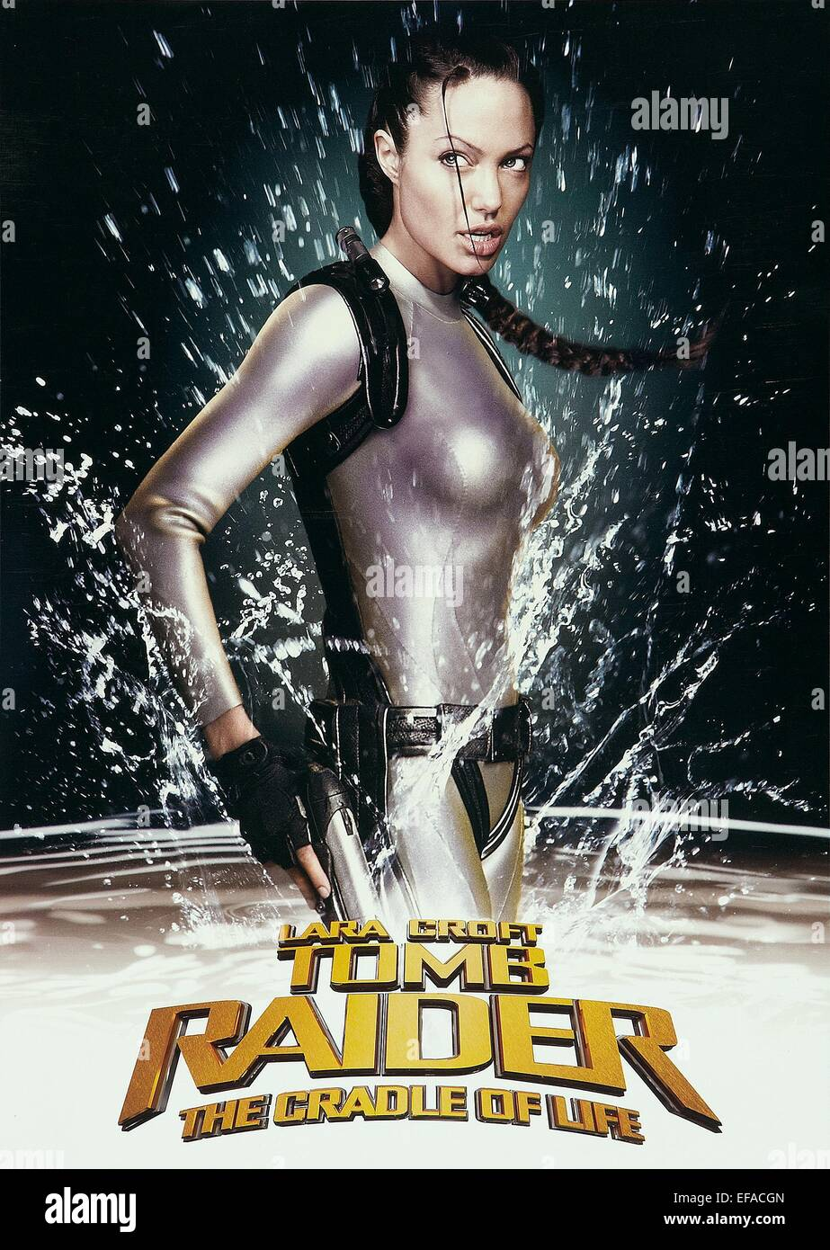 tomb raider 2 game poster
