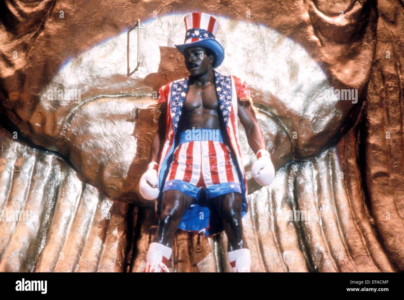 CARL WEATHERS ROCKY IV (1985 Stock ...