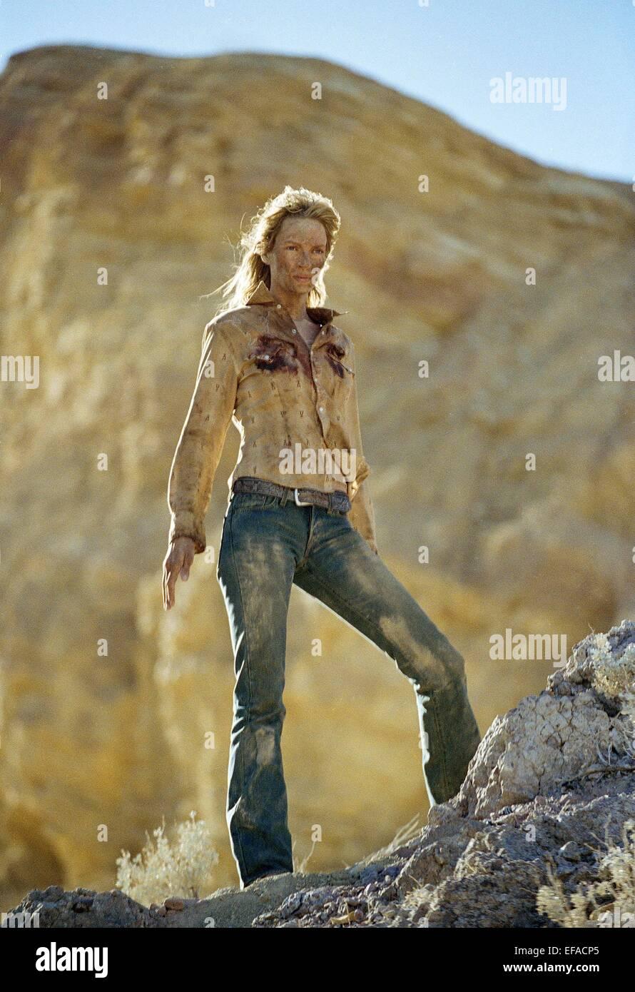 UMA THURMAN KILL BILL: VOL. 2; KILL BILL 2 (2004 Stock Photo - Alamy