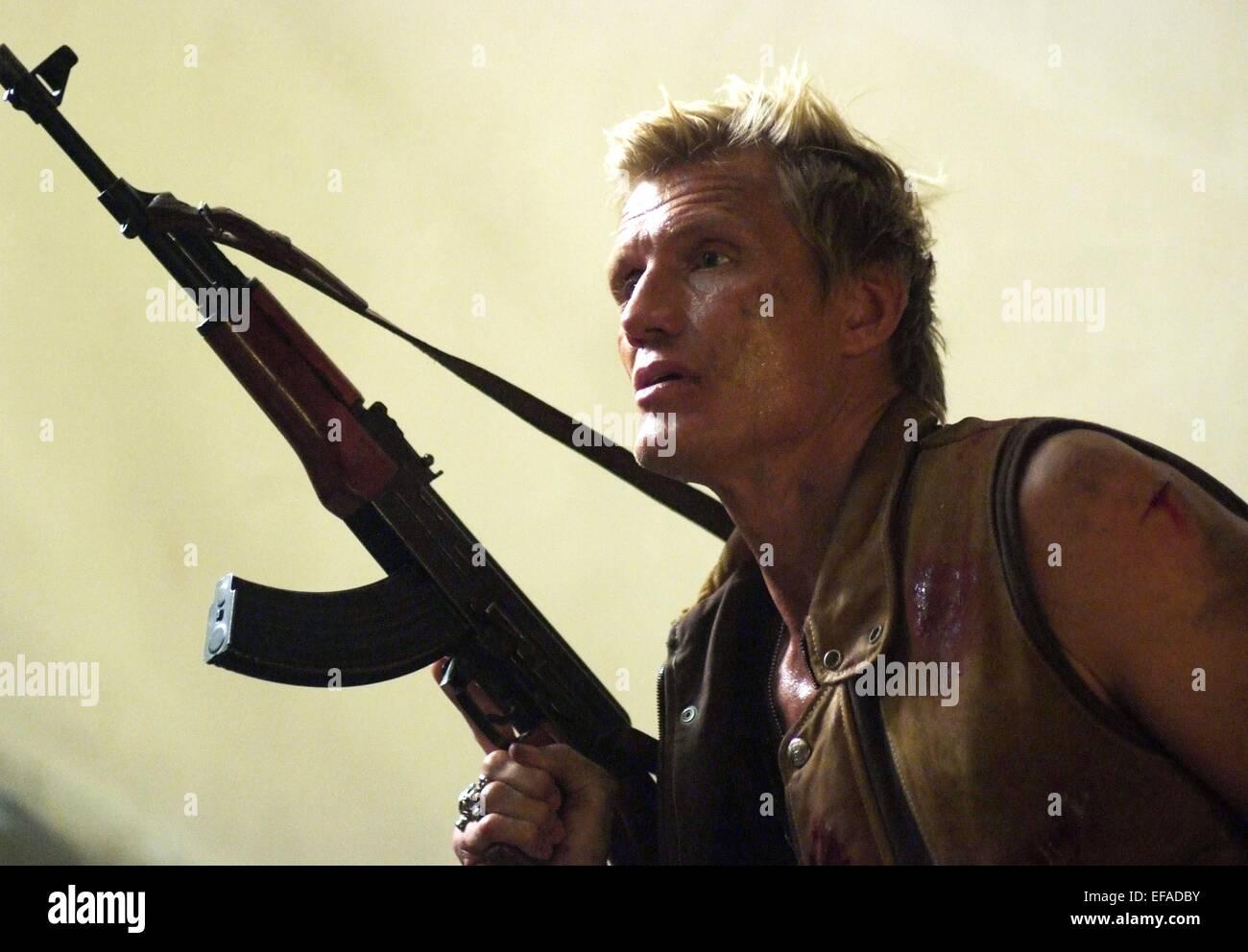 DOLPH LUNDGREN COMMAND PERFORMANCE (2009) - Stock Image