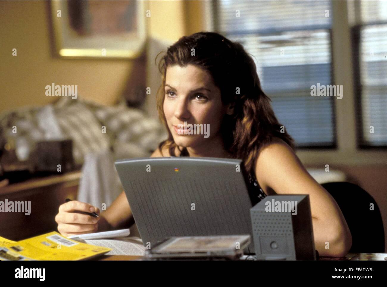 SANDRA BULLOCK THE NET (1995) - Stock Image
