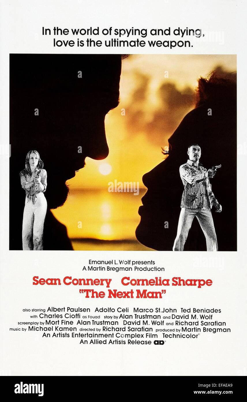 CORNELIA SHARPE & SEAN CONNERY THE NEXT MAN (1976 Stock Photo ...