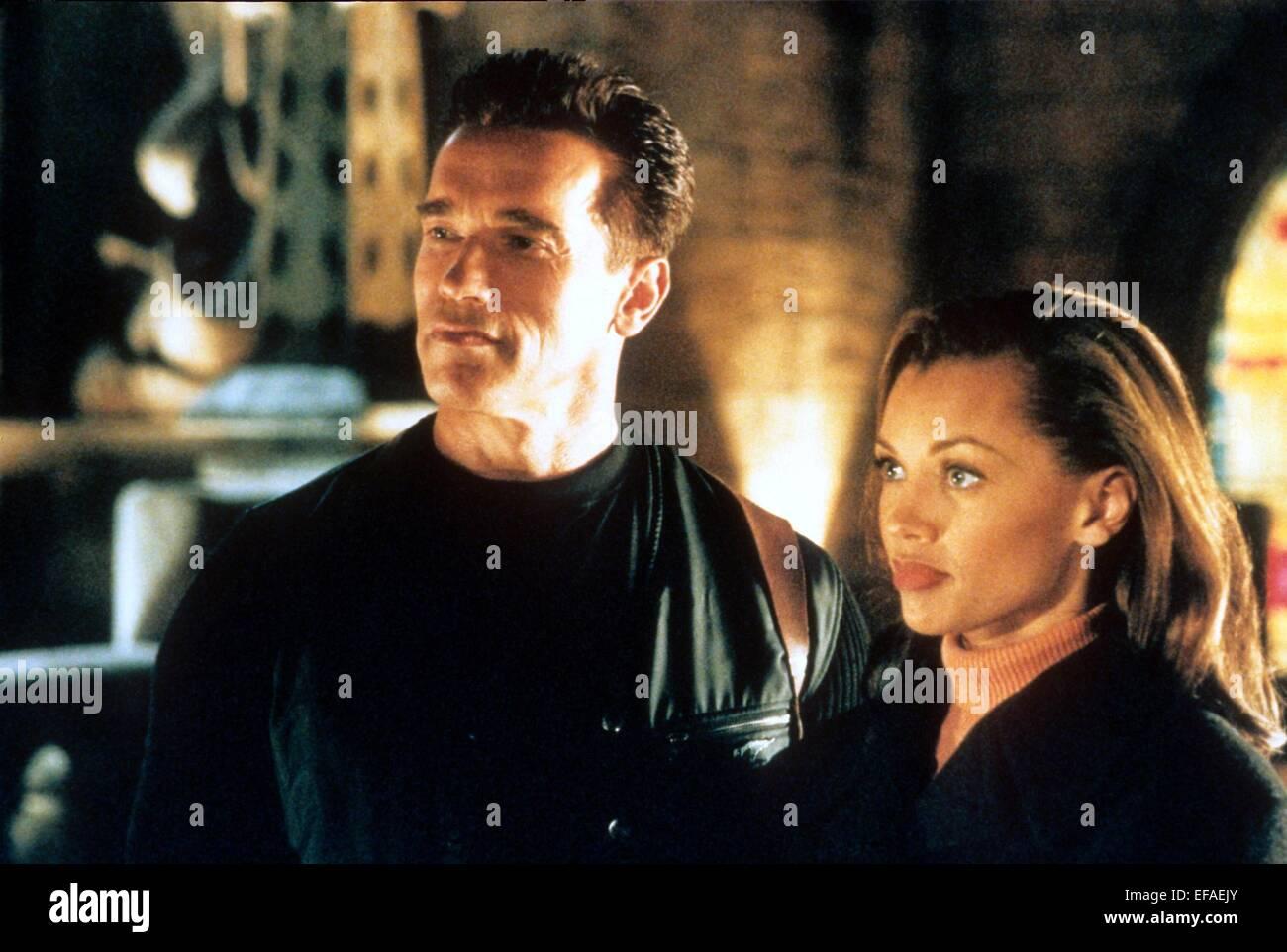 Arnold Schwarzenegger Vanessa Williams Eraser 1996 Stock Photo Alamy