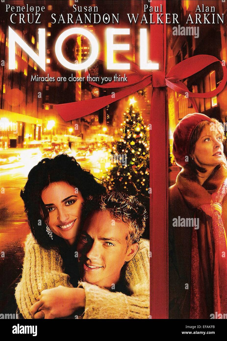 MOVIE POSTER NOEL (2004) - Stock Image