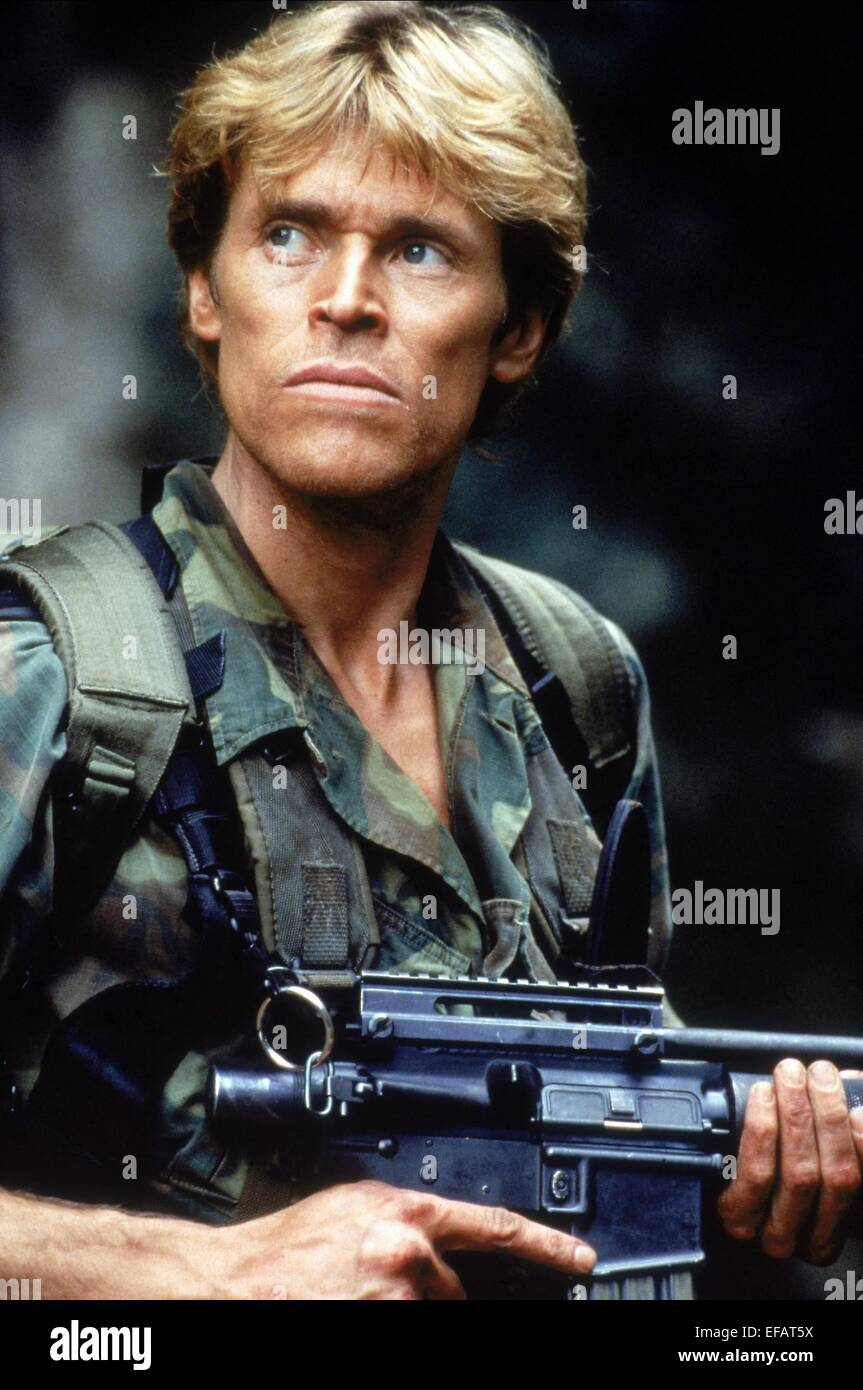 Willem Dafoe Clear And Present Danger 1994 Stock Photo Alamy