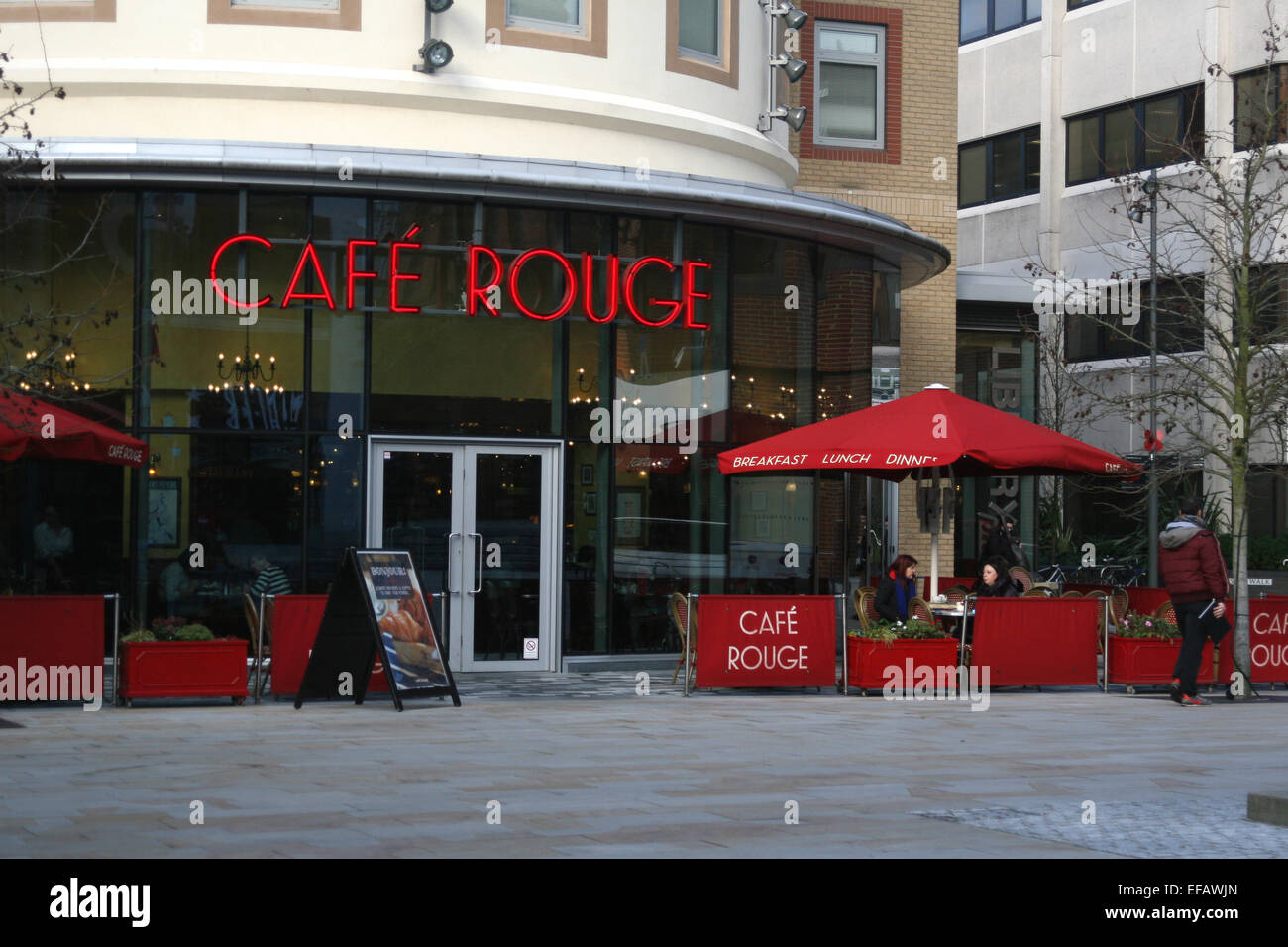 cafe rouge woking - Stock Image
