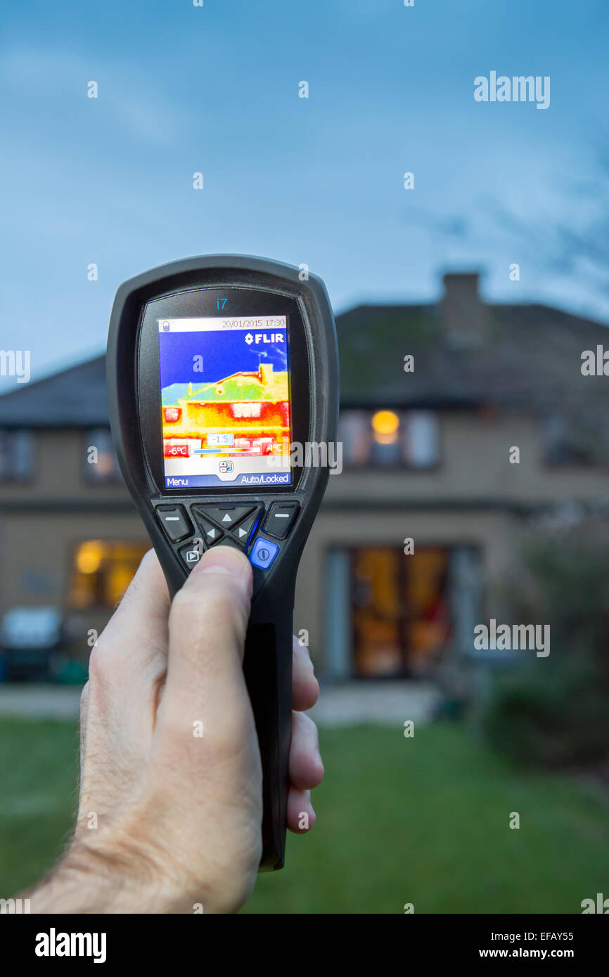 Thermal Imaging Camera - Stock Image