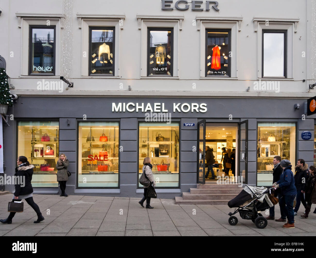 3598e6c0e927 Michael Kors accessories fashion shop in Karl Johans gate Oslo Norway