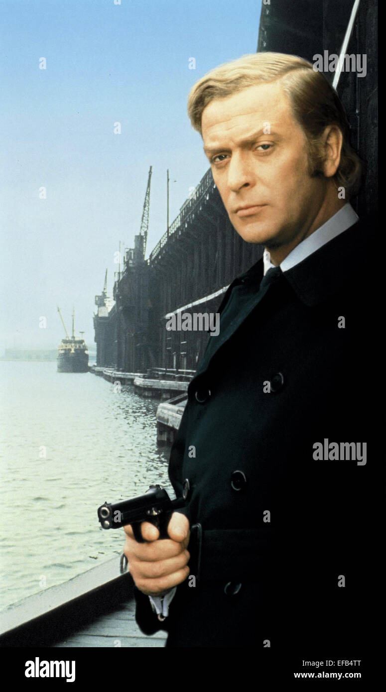 MICHAEL CAINE GET CARTER (1971) Stock Photo