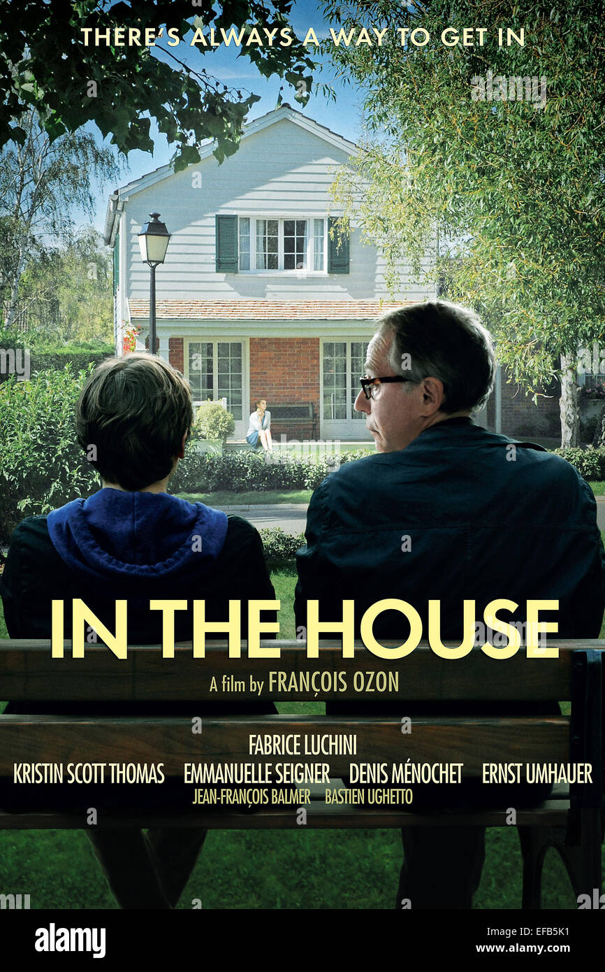 MOVIE POSTER IN THE HOUSE; DANS LA MAISON (9 Stock Photo - Alamy