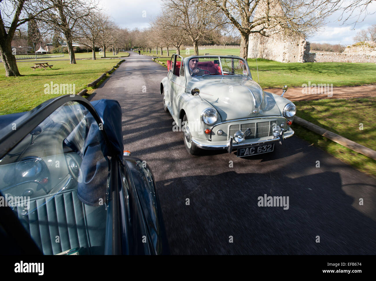 Classic Cars Driving Stock Photos & Classic Cars Driving Stock ...