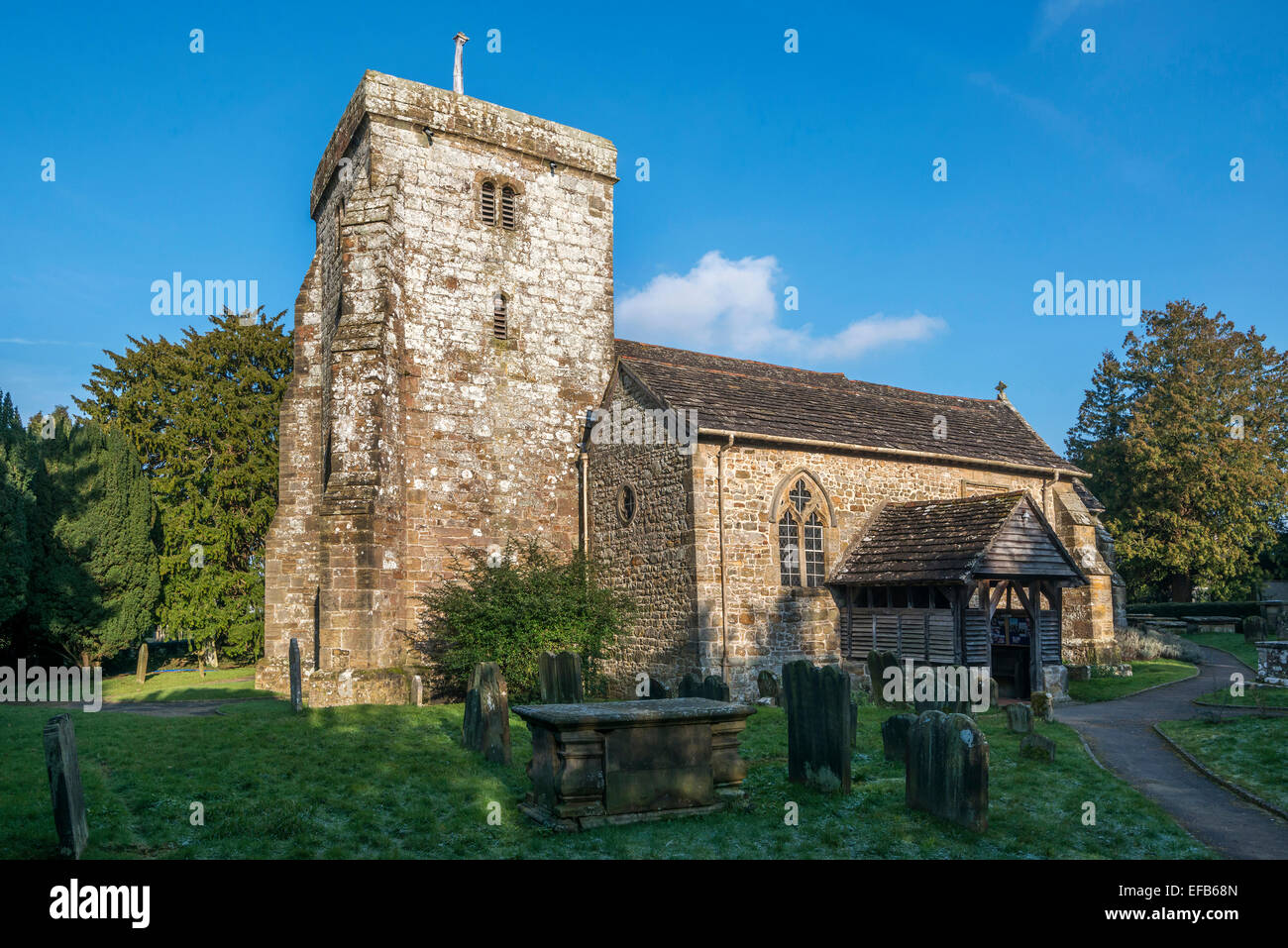 St Peters Church. Ardingly. West Sussex. England. UK - Stock Image