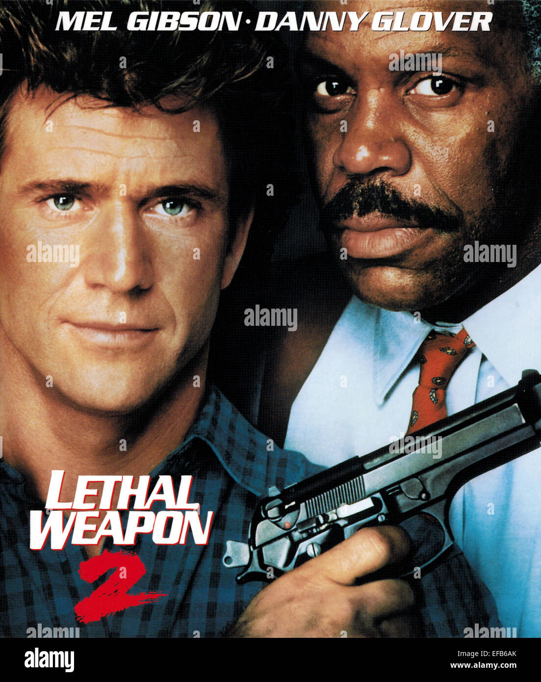 mel gibson amp danny glover poster lethal weapon 2 1989