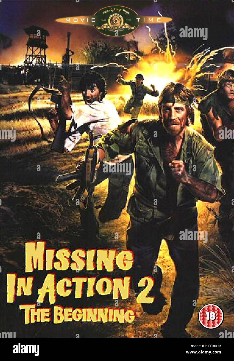 CHUCK NORRIS POSTER MISSING IN ACTION 2: THE BEGINNING (1985)