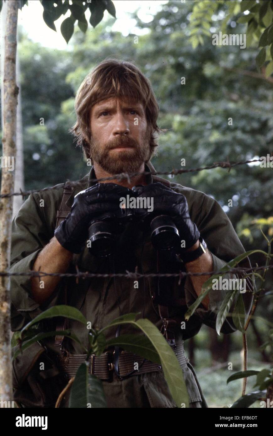 ++Missing in Action++ +Autogramm+ Chuck Norris