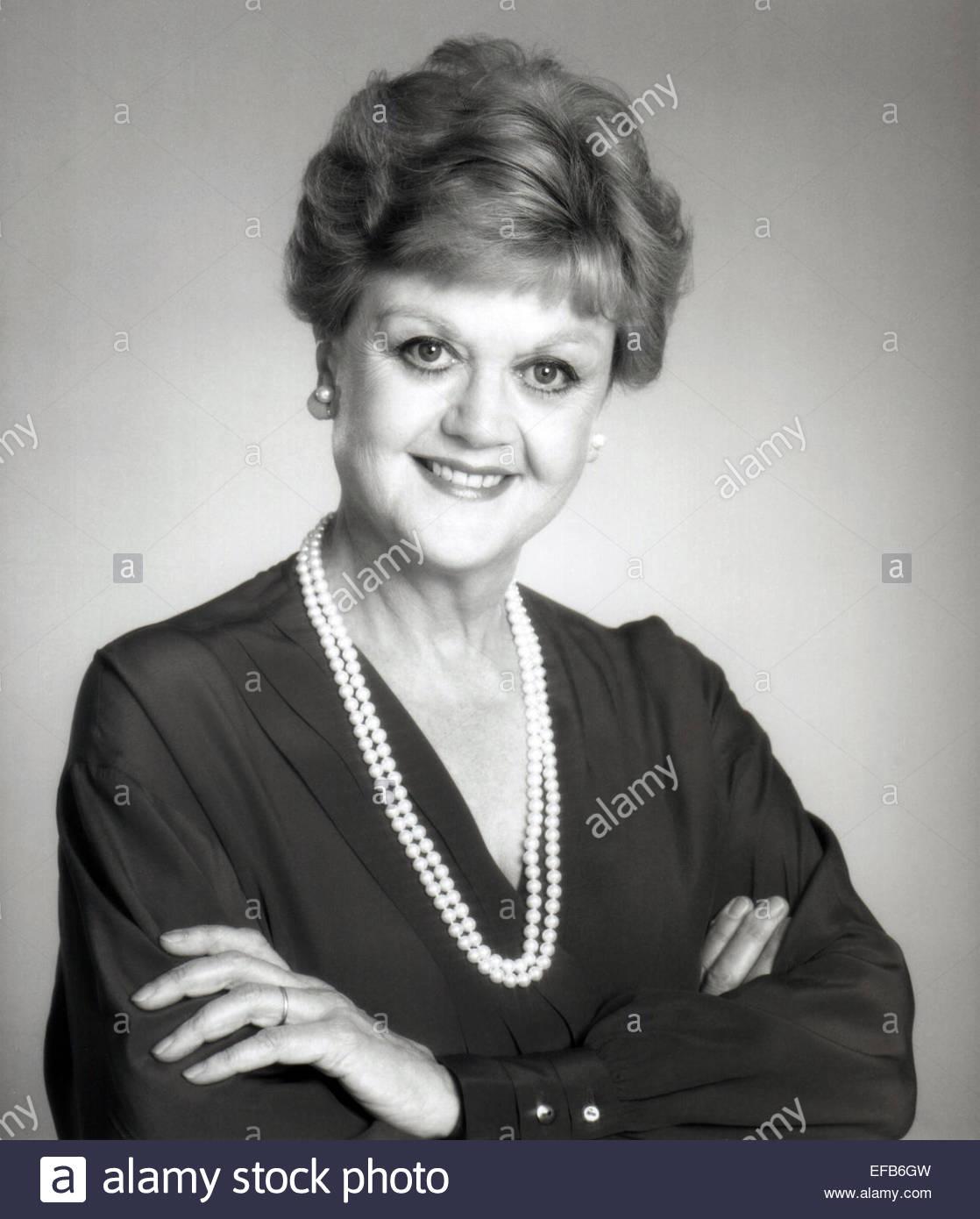 ANGELA LANSBURY MURDER SHE WROTE (1984) - Stock Image