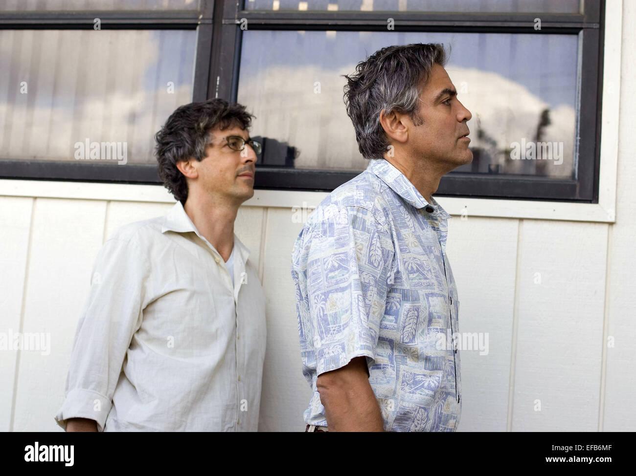 Alexander Payne George Clooney The Descendants 2011 Stock Photo Alamy