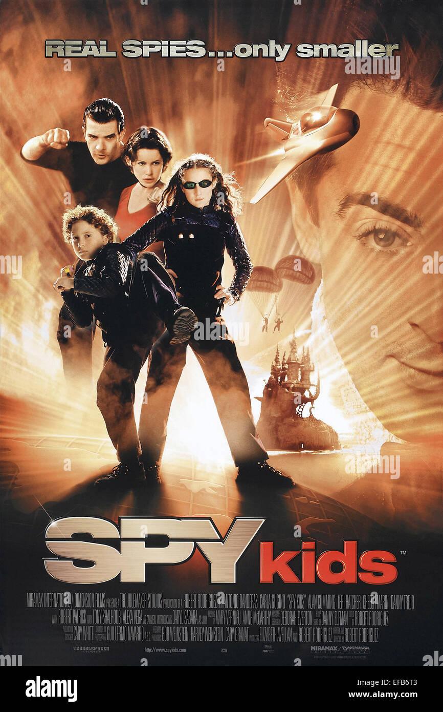MOVIE POSTER SPY KIDS (2001) - Stock Image