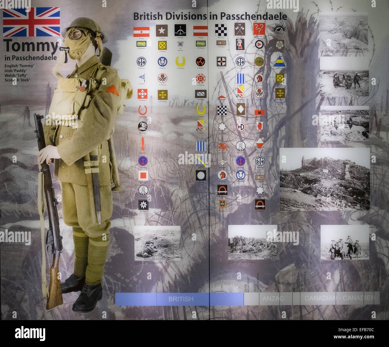 first world war memorabilia - Stock Image