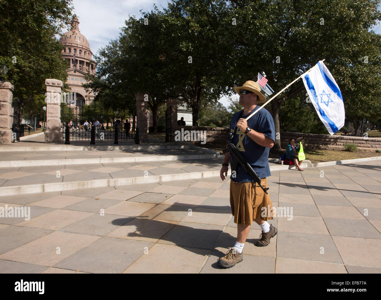 Austin, Texas, USA. 29th January, 2015. Texas Muslim Capitol Day organized by the Council on American-Islamic Relations - Stock Image