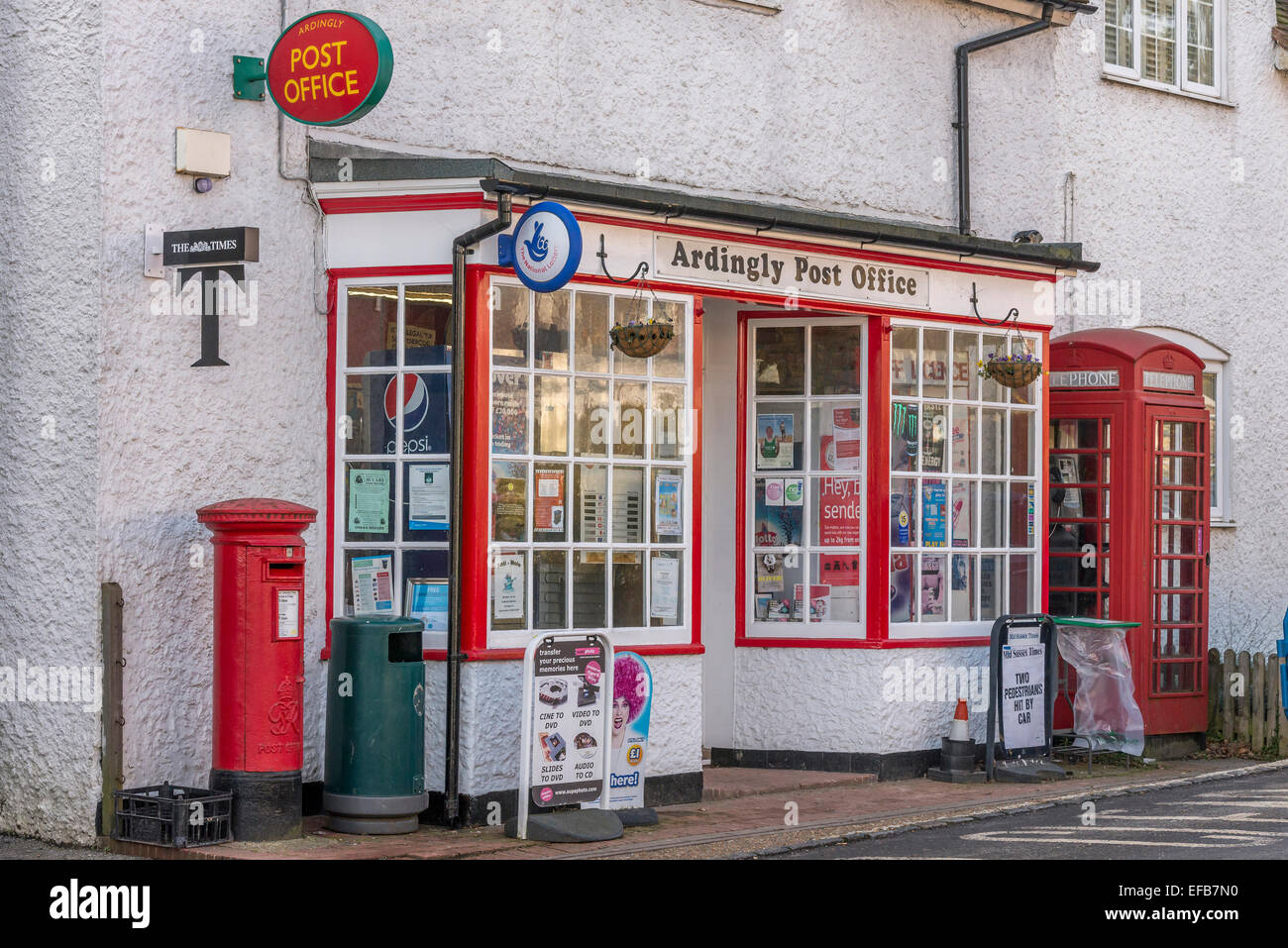 Ardingly Post Office. West Sussex. England. UK - Stock Image