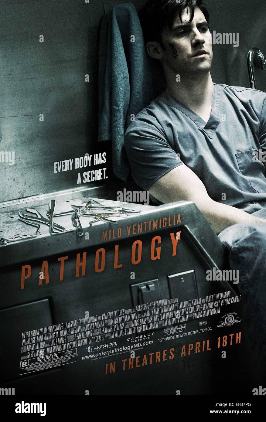 MOVIE POSTER PATHOLOGY (2008) - Stock Image