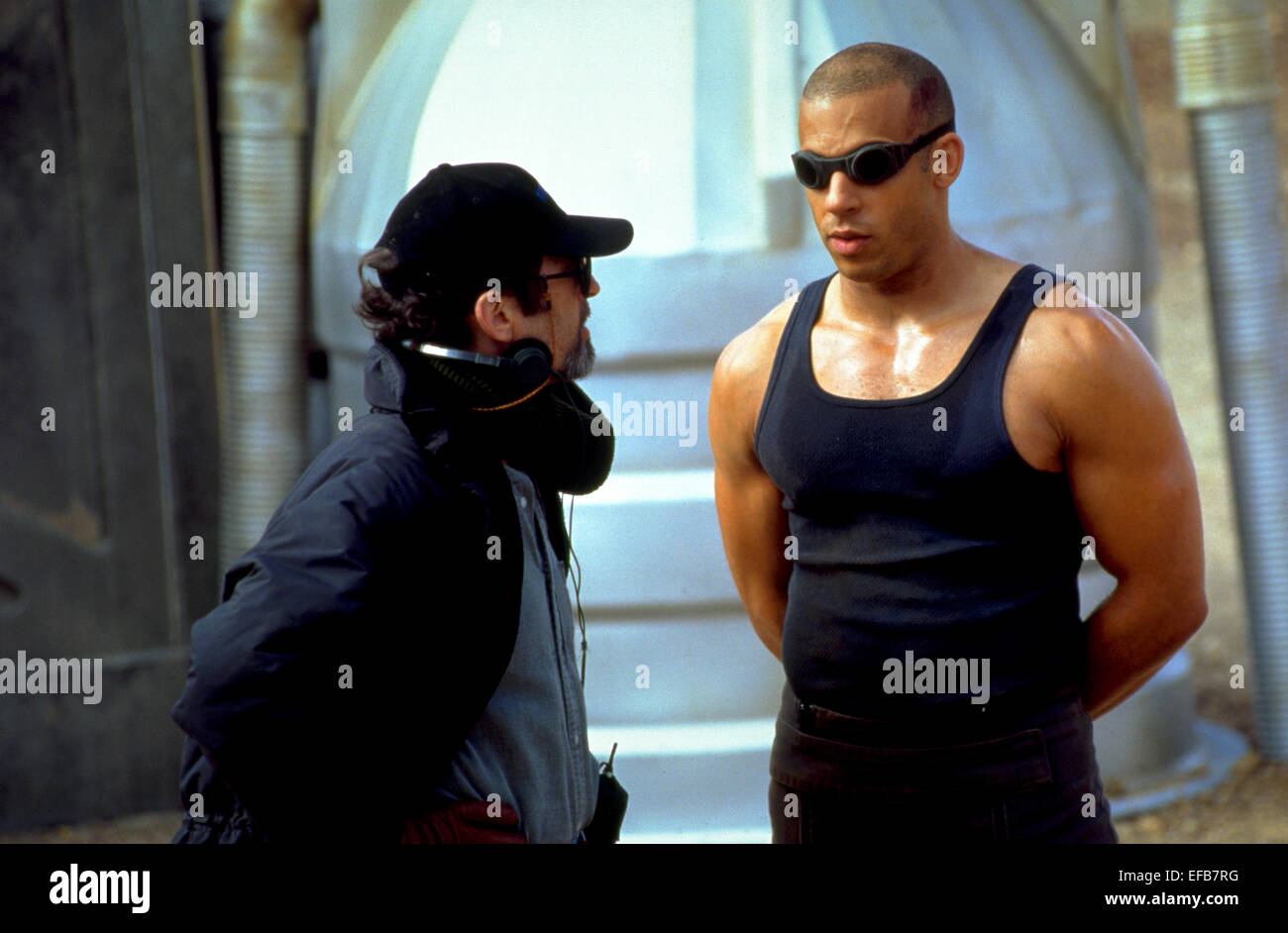 eaadc2a95451 DAVID TWOHY   VIN DIESEL PITCH BLACK (2000 Stock Photo  78308932 - Alamy