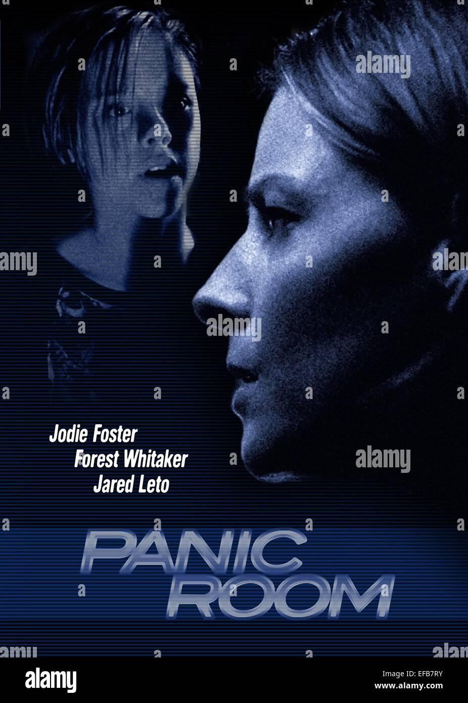 Kristen Stewart Jodie Foster Poster Panic Room 2002 Stock Photo Alamy