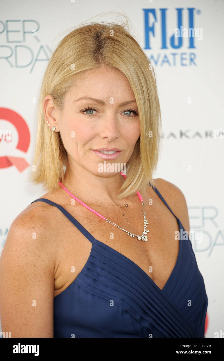 Ovarian Cancer Research Fund S Super Saturday Featuring Kelly Ripa Stock Photo Alamy