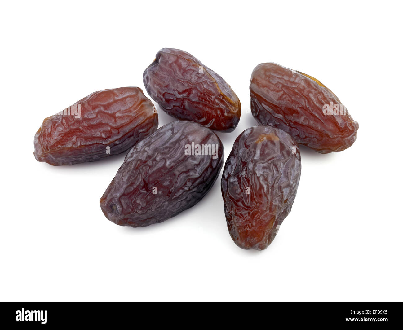 dates, medjool - Stock Image