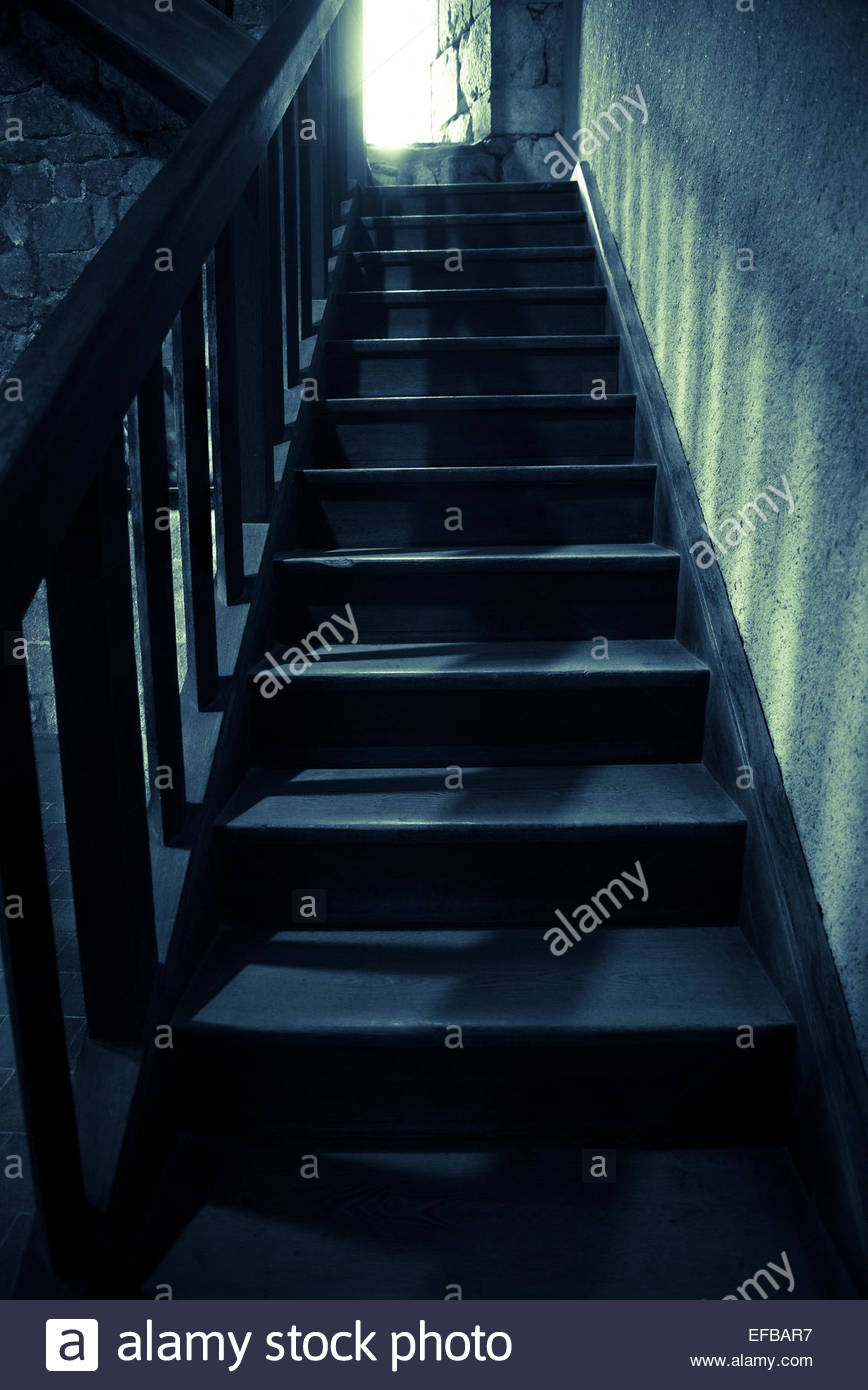 Staircase Shadows Light Top Stock Photos Staircase Shadows