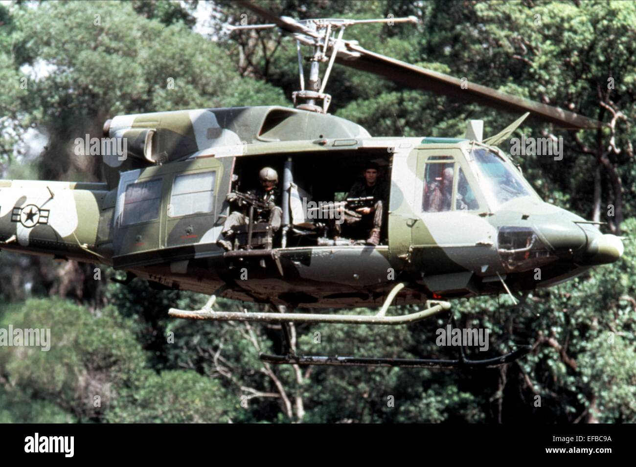 SCENE WITH HELICOPTER SNIPER (1993) - Stock Image