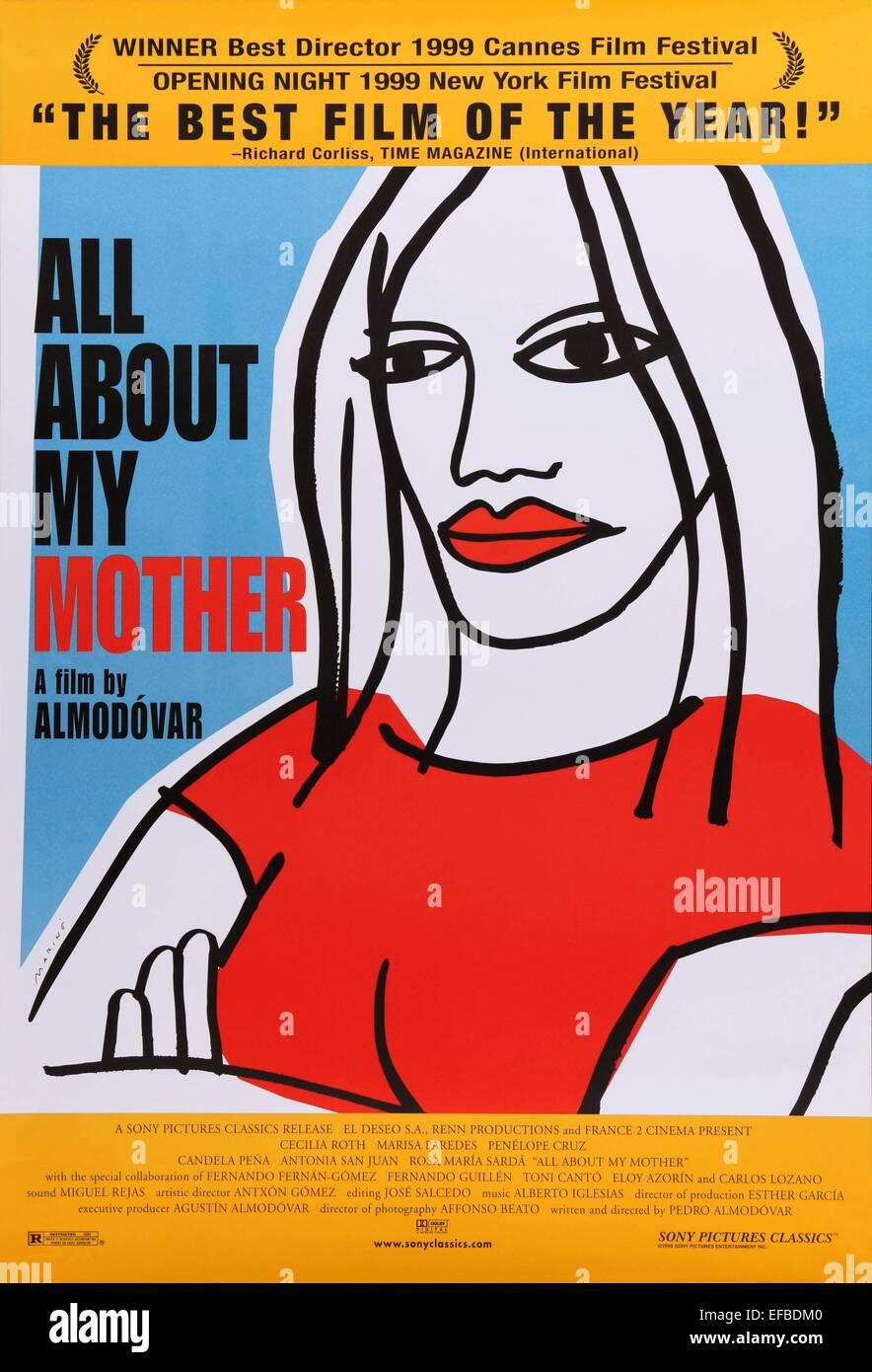 Todo Sobre Mi Madre [1999]  HD [1080p] Castellano [GoogleDrive] SilvestreHD