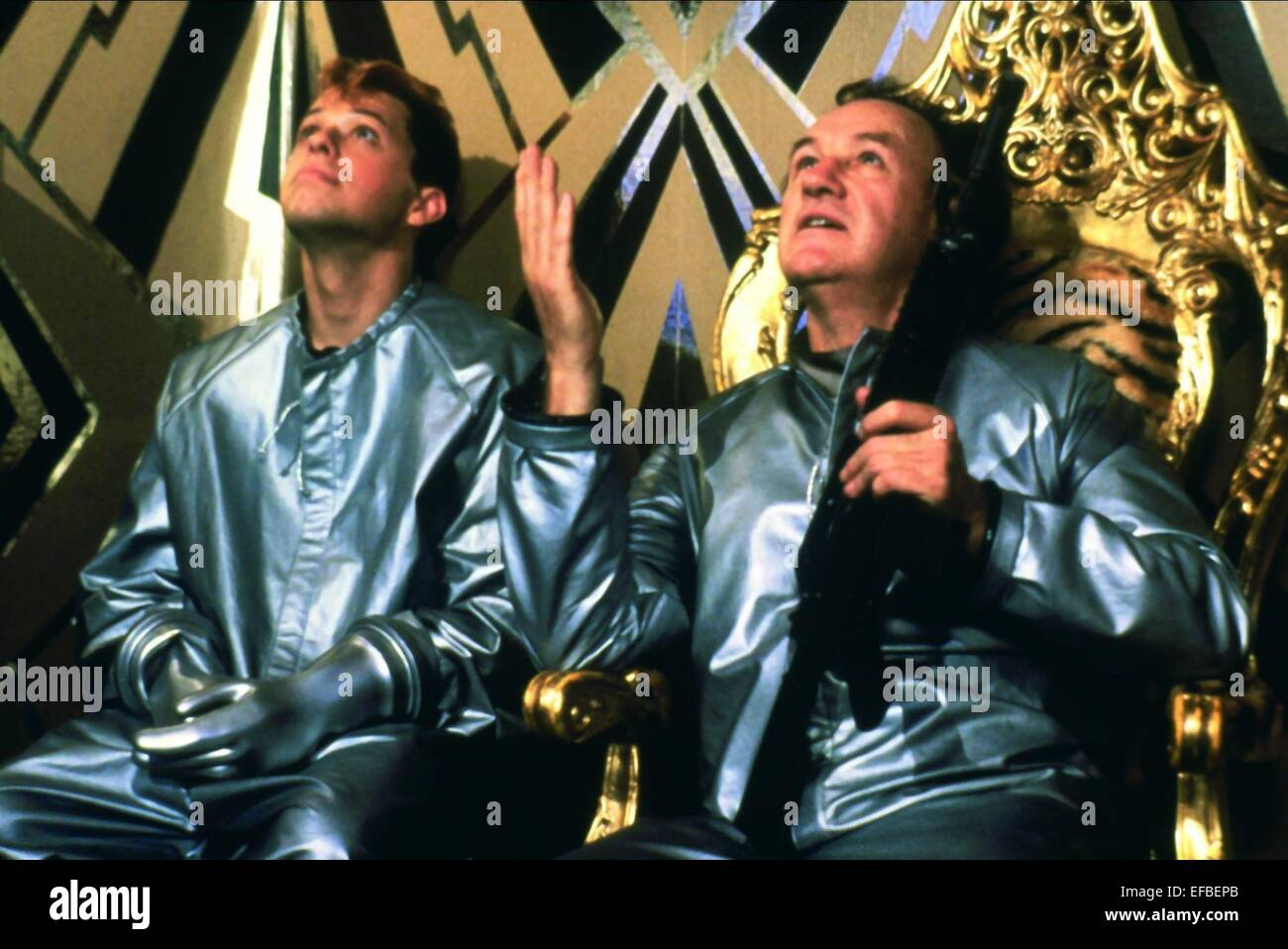 JON CRYER, GENE HACKMAN, SUPERMAN IV: THE QUEST FOR PEACE, 1987 - Stock Image