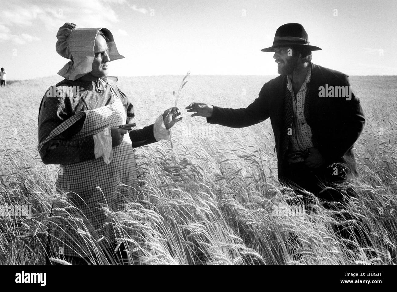 MARLON BRANDO, JACK NICHOLSON, THE MISSOURI BREAKS, 1976 - Stock Image