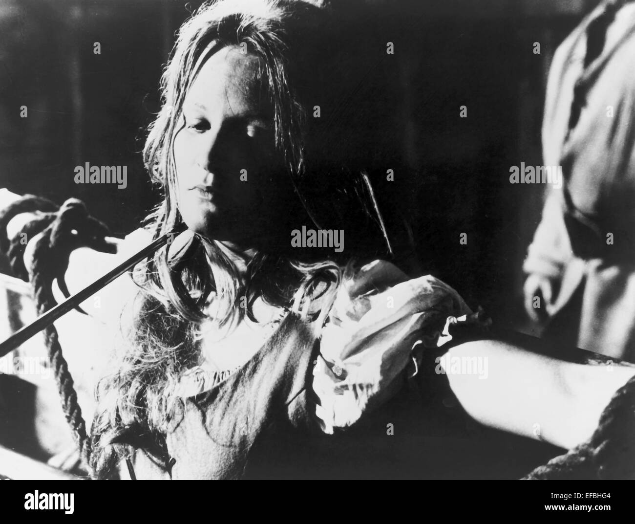 LINDA HAYDEN THE BLOOD ON SATAN'S CLAW (1971) - Stock Image