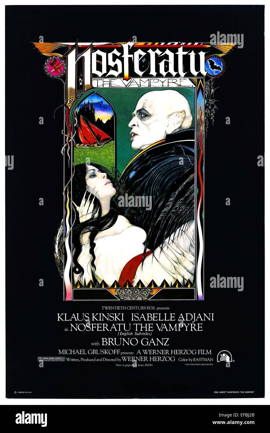 MOVIE POSTER NOSFERATU THE VAMPYRE (1979) Stock Photo