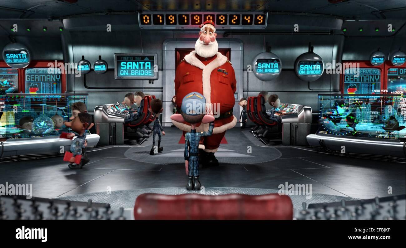 Arthur Christmas Elves.Santa Elves Arthur Christmas 2011 Stock Photo 78317450