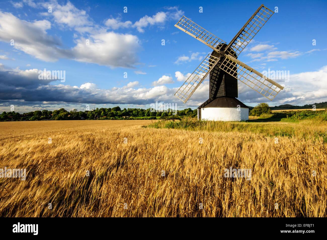 Pitstone Windmil,Bedfordshire,England - Stock Image