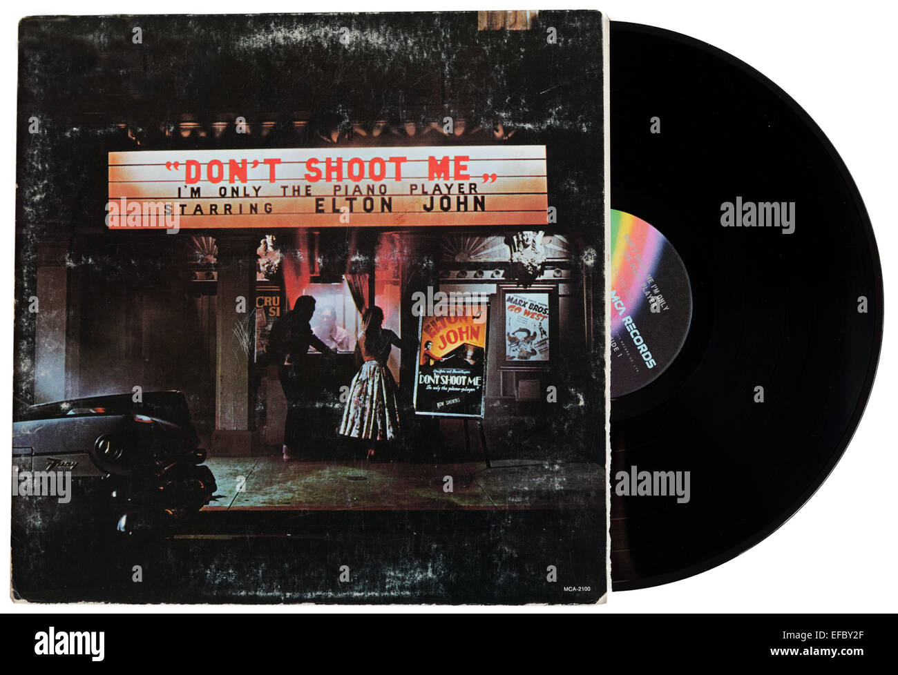 Don`t Shoot Me I'm Only The Piano Player by Elton John - Stock Image