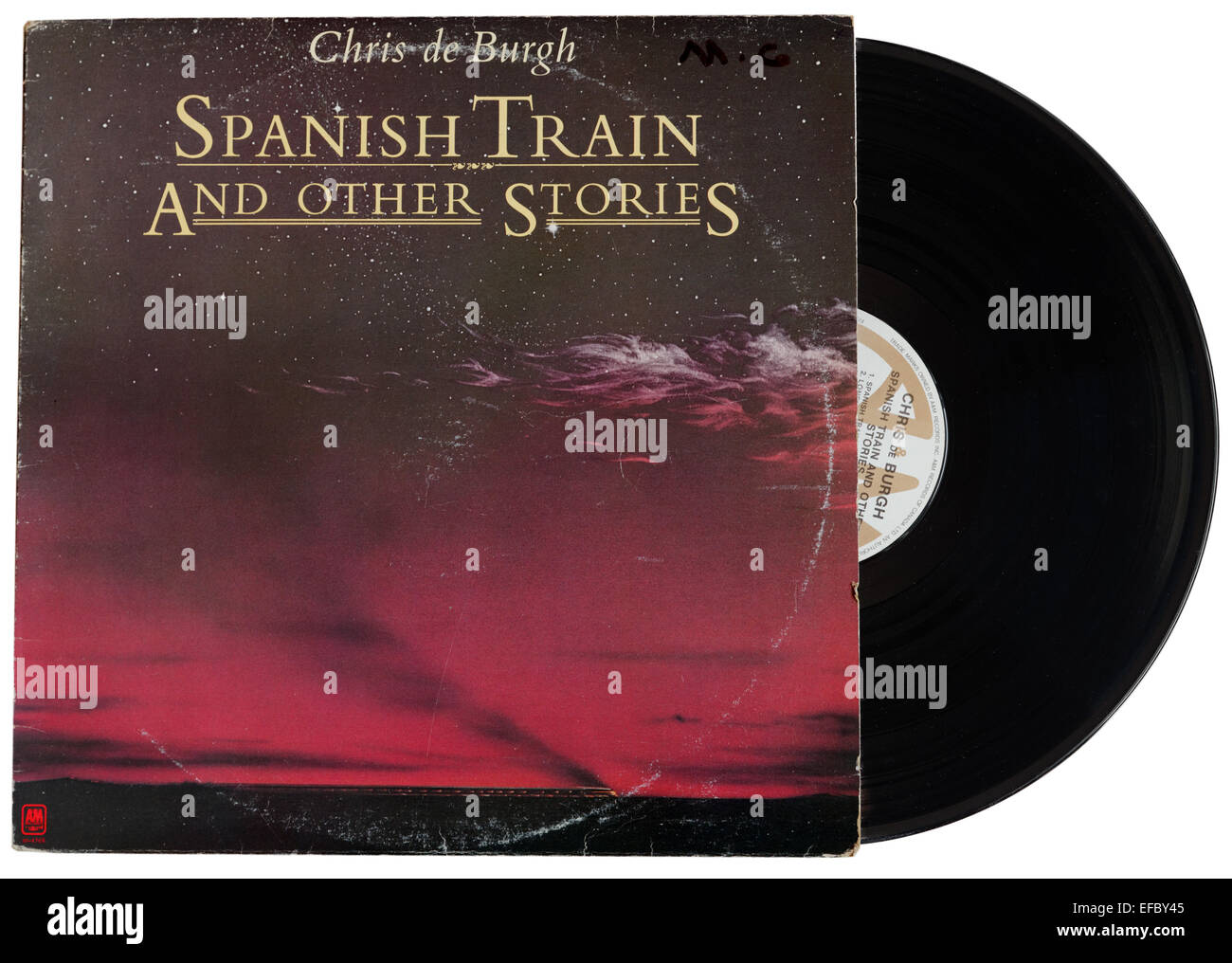 Spanish Train and Other Stories album by Chris de Burgh - Stock Image