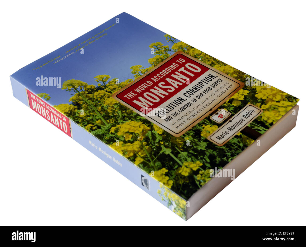 The World According to Monsanto by Marie-Monique Robin - Stock Image